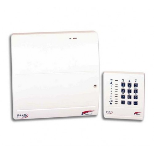 Scantronic 9448EUR-95 Control Panel c/w Remote Keypad
