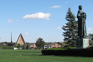 The campus of Concordia Theological Seminary, Fort Wayne, Indiana.