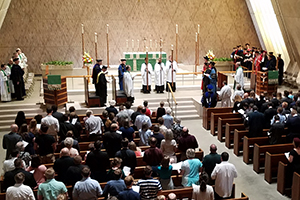 Opening Service of the 173rd academic year in Kramer Chapel.