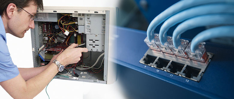 Woodridge Illinois On Site Computer PC & Printer Repair, Network, Voice & Data Cabling Services