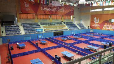 La salle de compétition
