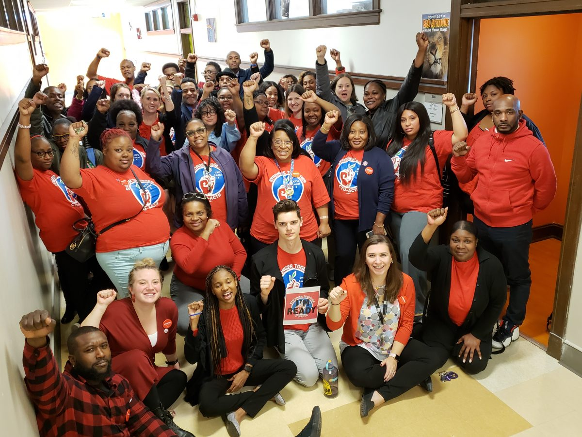 Stage set for second historic CTU charter school strike