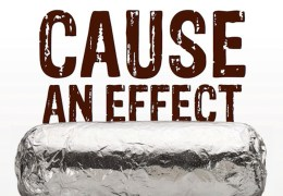 Cause an Effect at Chipotle on Nov. 20, 2015