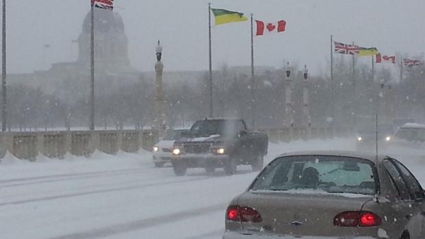 Blast of winter hits Saskatchewan  CTV Regina News
