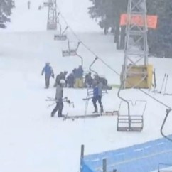 Ski Chair Lift Malfunction Yellow Upholstered Dining Chairlift Incident At Crystal Mountain Resort Near Kelowna B C Sends 4 To Hospital