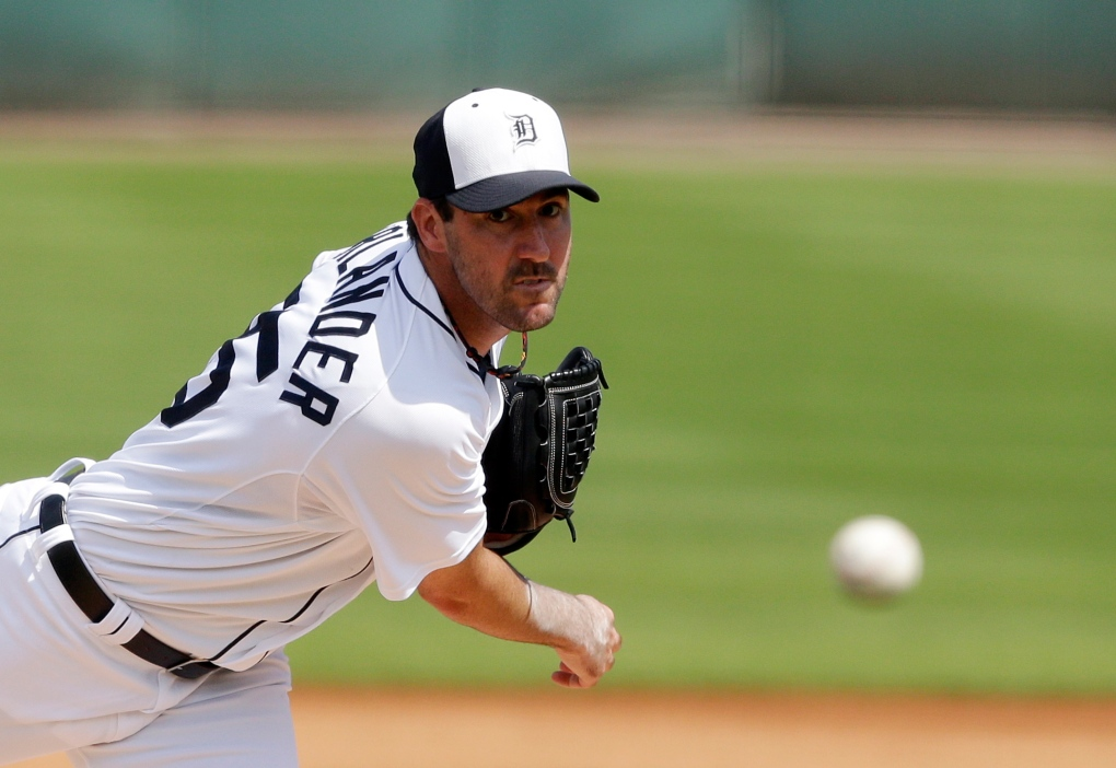 Detroit Tigers star pitcher Verlander wants to keep private life private after photos allegedly hacked   CTV News