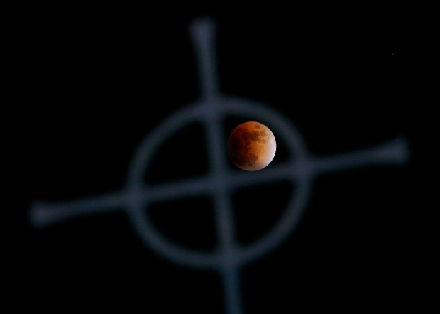 Lunar eclipse coming this week