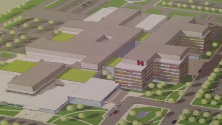The Windsor Mega Hospital is still in construction. This hospital is so large, the area they are<br> building it on used to be 2 smaller hospitals!