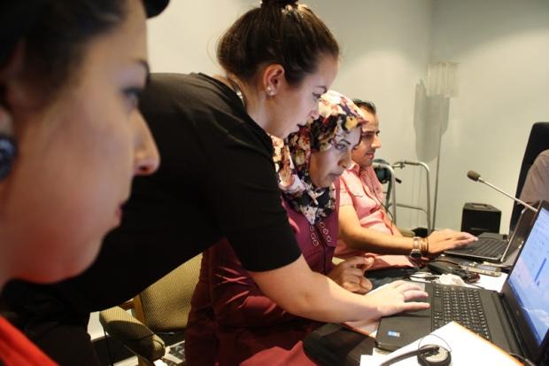 JHR workshop journalists (CTV News)