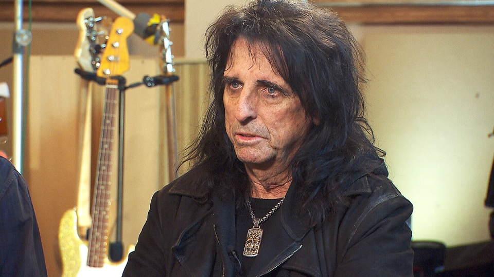Rock star Alice Cooper opens up about alcoholism  CTV News