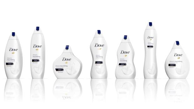 Skinny, fat or 'bucket'?: Dove's body-shaped bottle ad