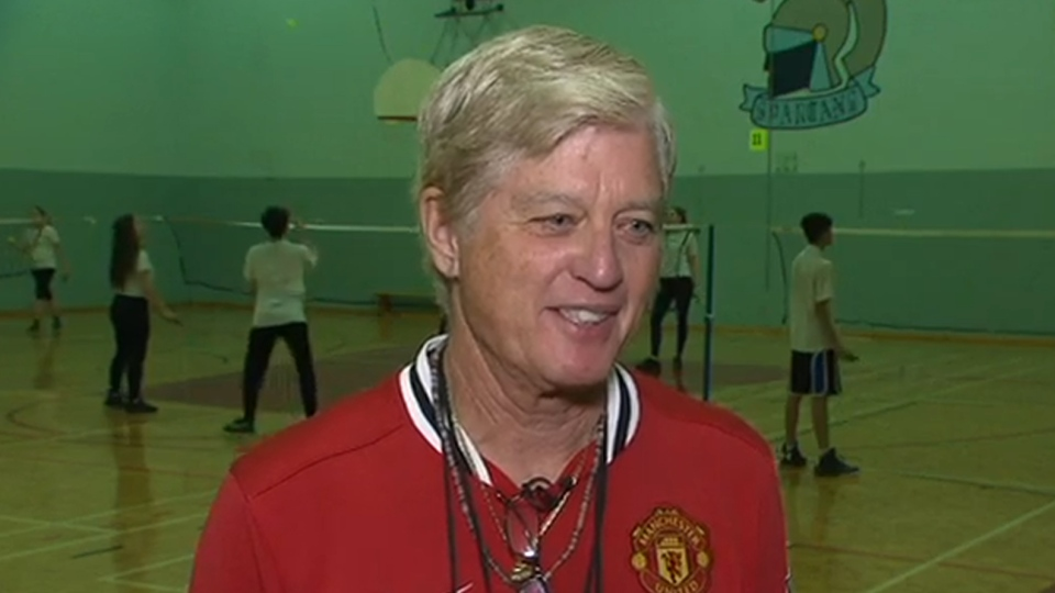 Schools out for this 71yearold gym teacher  CTV News