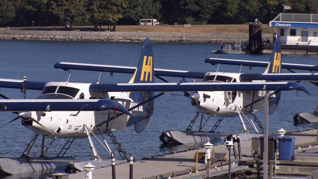 Downtown seaplane flights to link Vancouver. Seattle   CTV News