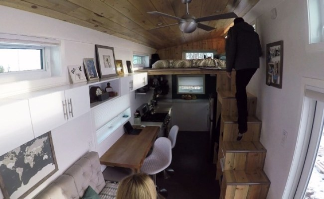 Tour This Tiny Edmonton Home Could You Live In 280 Square