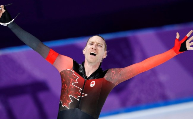 Canada S Ted Jan Bloemen Wins Gold With 10 000 Metre