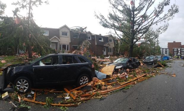 Secuelas del tornado