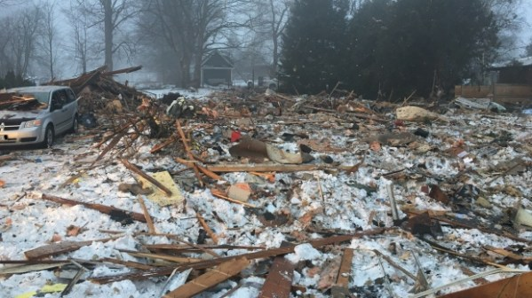 Ont house explosion caused by natural gas in home fire