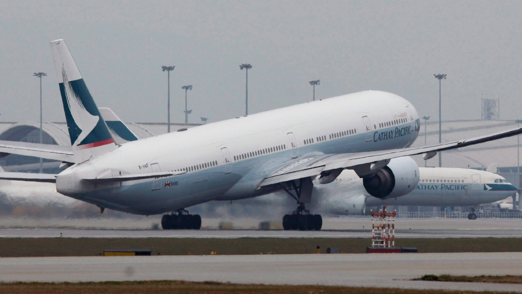 CUPE dismayed by Cathay Pacific's closure of Toronto cabin crew base. affecting 120 | CTV News