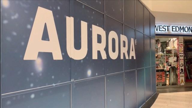 Image result for aurora cannabis retail