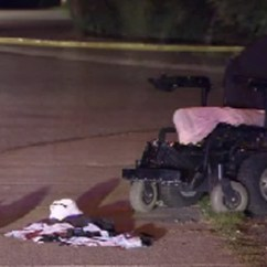 Wheelchair Fight Counter Height Office Chairs Bound Man Hospitalized After Stabbing Ctv News Vancouver Police Say A Broke Out Between Two Men In The Middle Of Road Near