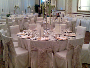 wedding chair covers doncaster the eames decor favours and co champagne linens