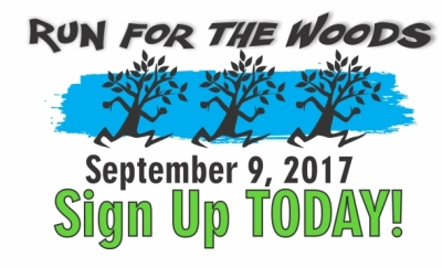 Run for the Woods September 9th, Sign Up today!