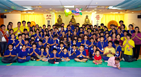 普竺精舍一百年度暑期兒童禪修營