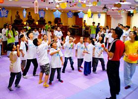 普竺精舍一百零三年度小太陽暑期兒童禪修營