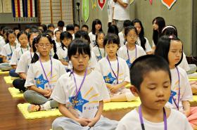 中臺山月刊140期-紅塵清泉 -- 精舍暑期兒童禪修營報導