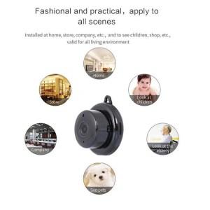 Wifi Smart Portable Home Office IP Wireless CCTV Mini Camera +64gb