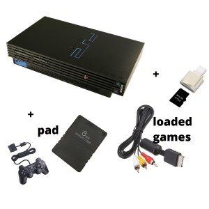 Sony Playstation 2 Complete With 1 Pad Loaded Games Av Module Foreign Used