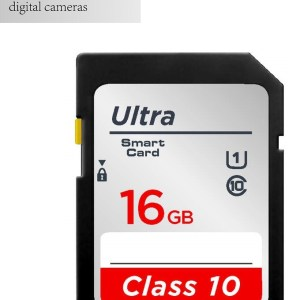 16gb SD Memory Card for camorders and cameras faster speed class 10
