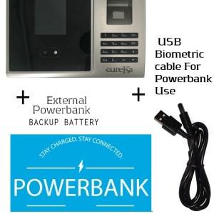 Biometric Staff Attendance Face Fingerprint+Powerbank Backup