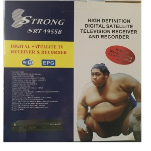 Strong 4955B Free To Air Satellite decoder rf out rf in HDMI