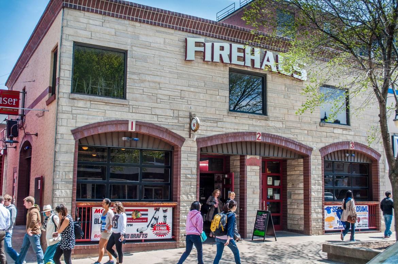 Exterior of Firehaus