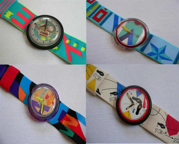 pop swatch ochentas