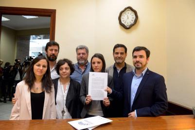 Moción contra Rajoy.