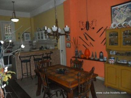 Dinning Room House Maribel in Havana, Cuba