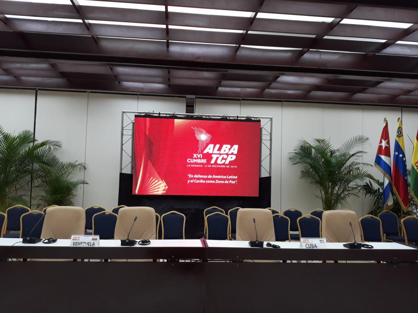 Sesiona en La Habana XVI Cumbre ALBA-TCP por la integración solidaria