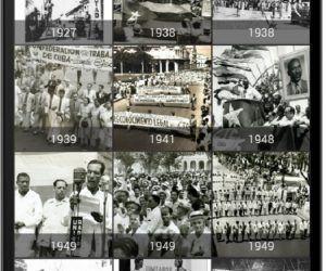 En la aplicación están disponibles un grupo de instantáneas de los festejos en Cuba