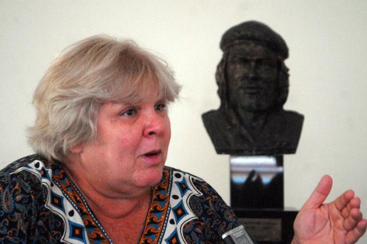 Aleida Guevara, hija del Guerrillero Heroico
