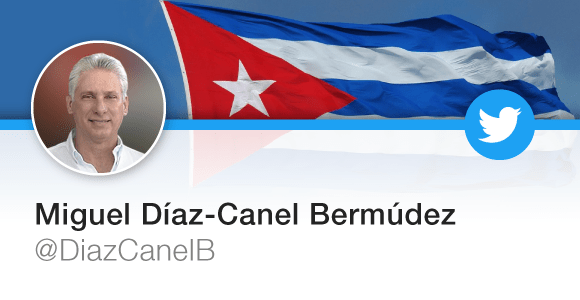 Miguel Diaz-Canel's Twitter