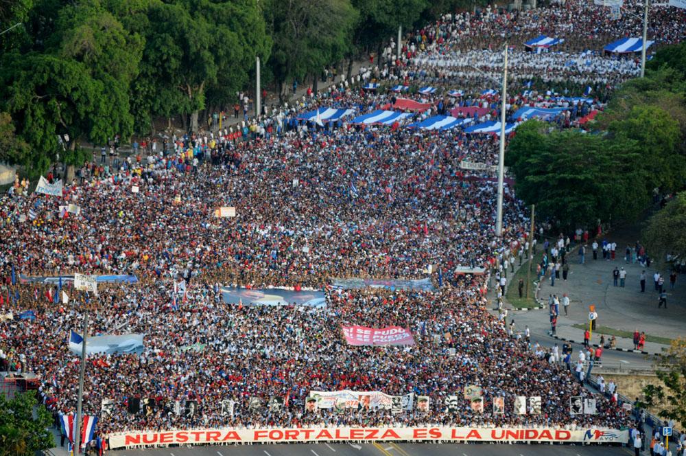 Resultado de imagen de 1 mayo 2017 cuba