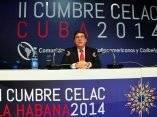 Bruno Rodríguez Parrilla inaugura sala de prensa CELAC