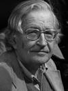 Noam Chomsky, Linguista norteamericano, escritor y filósofo.
