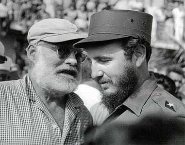 Hemingway abandon Cuba por presiones de Estados Unidos
