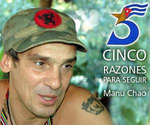 Manu Chao, cinco razones para seguir