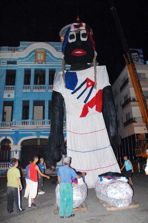 Mueca de trapo cubana aspira al rcord Guinnes de ms