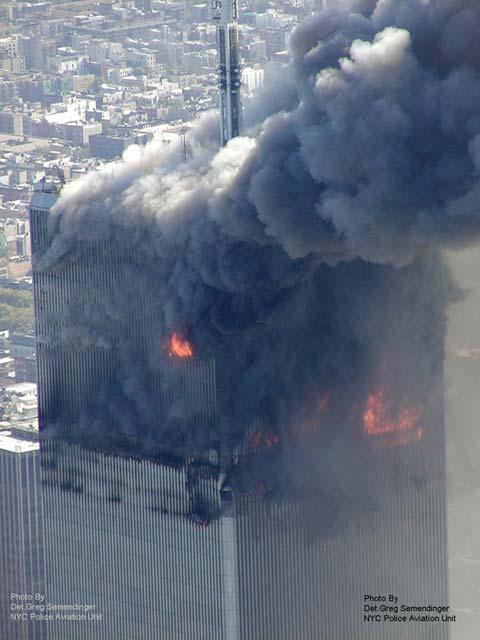Imgenes inditas del desplome del World Trade Center el