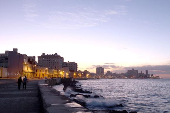 El Malecón de La Haban, Cuba. Foto: Kaloian
